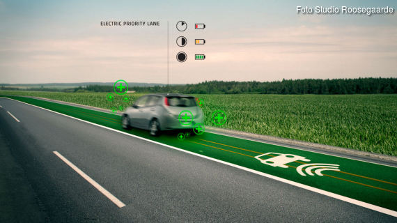 Smart highway - electronic priority lane