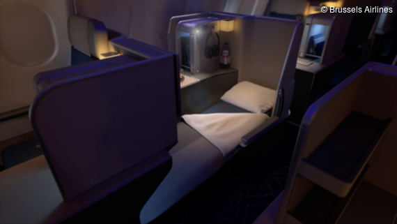 Brussels Airlines - Die neue Business Class